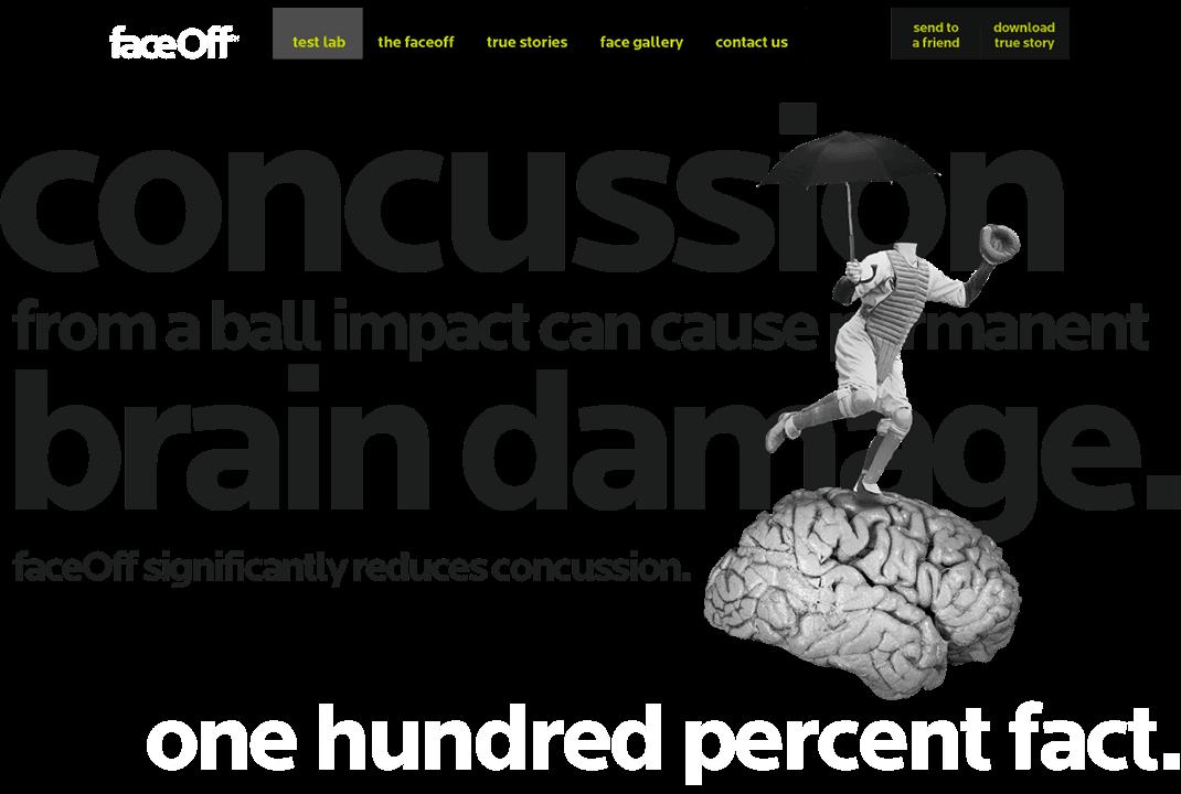 faceoff fracture html5 website design