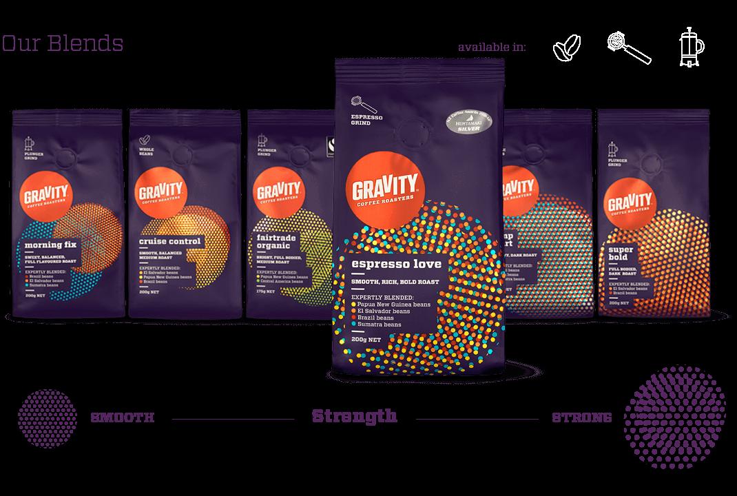 gravity fracture html5 website design